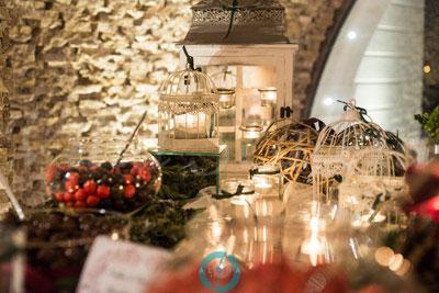 villa per matrimonio invernale dolci Natale